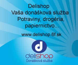 Nový banner Delishop - Donáškovej služby